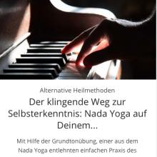 Der klingende Weg zur Selbsterkenntnis: Nada Yoga auf Deinem Grundton